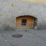 Eingang Futterplatz Strassenseite